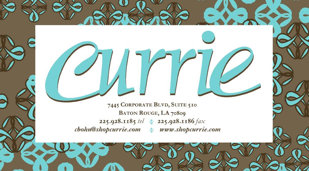 Shop Currie!